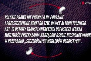 50 lat od pierwszego w Polsce przeszczepu nerki od �ywego dawcy