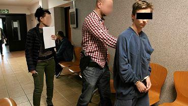 Dawida W. do sądu doprowadzili gorzowscy kryminalni