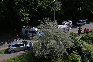 Trzy osoby zatrzymane po �miertelnym ataku maczet� w Krakowie
