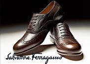 Logo z klasą: Salvatore Ferragamo, logo z klasą, moda męska, buty
