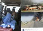 Tragedia w Afganistanie. Czołowe zderzenie autokarów z cysterną. Nie żyje kilkadziesiąt osób