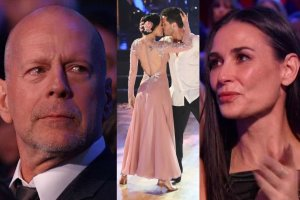 Bruce Willis, Demi Moore, Rumer Willis