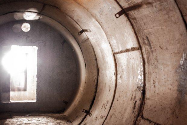 Tunel, który miał prowadzić z Obiektu nr 1 do Obiektu nr 3, nigdy nie został jednak ukończony