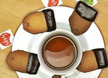 Kruche ciastka z czekolad�. Zupe�nie jak herbata - ugotuj