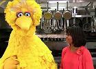 Michelle Obama i Wielki Ptak zach�caj� dzieci do zdrowej diety