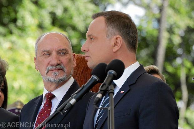 Duda kontra Macierewicz, czyli kto kontroluje polską armię. Czy 11 listopada dojdzie do skandalu?