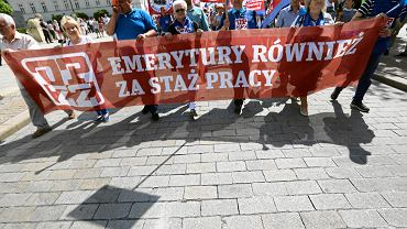 Marsz z okazji Święta Pracy