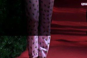 Ada Fijał w ryzykownej stylizacji. Nie jesteśmy przekonani. Czy to jeszcze moda, czy już piżama?