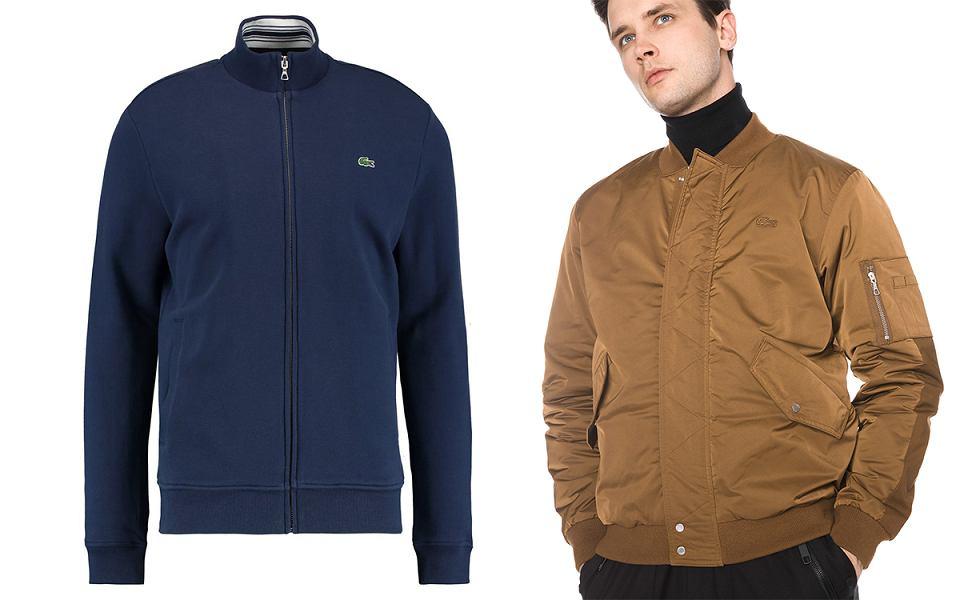 Lacoste: bluzy i kurtki