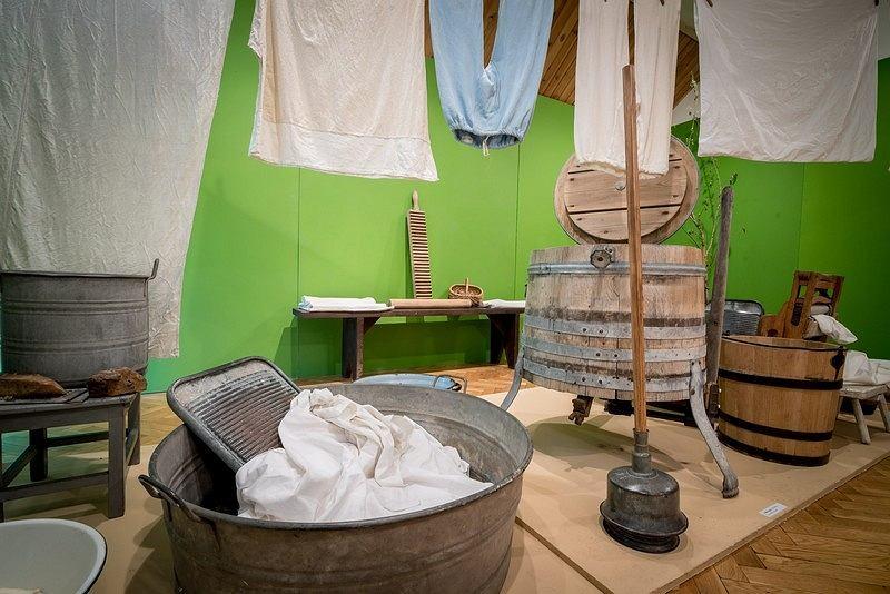 Kąpiel w balii / materiały promocyjne