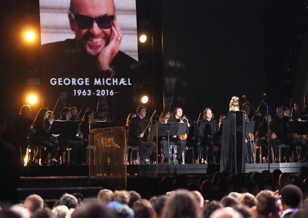 Zdjęcie numer 3 w galerii - Grammy 2017. Adele PRZERWAŁA występ podczas hołdu dla George'a Michaela.