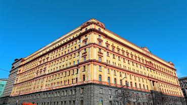 Łubianka, siedziba FSB, a dawniej KGB w Moskwie