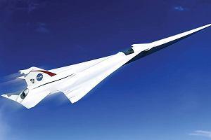 NASA testuje nowy samolot. Lot z Nowego Jorku do Londynu w 3,5 godziny
