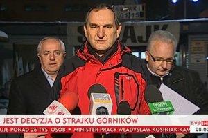 """Rozpocz�� si� strajk w Jastrz�bskiej Sp�ce W�glowej. """"Prezes jest gotowy do rozwi�za� si�owych, my te�"""""""