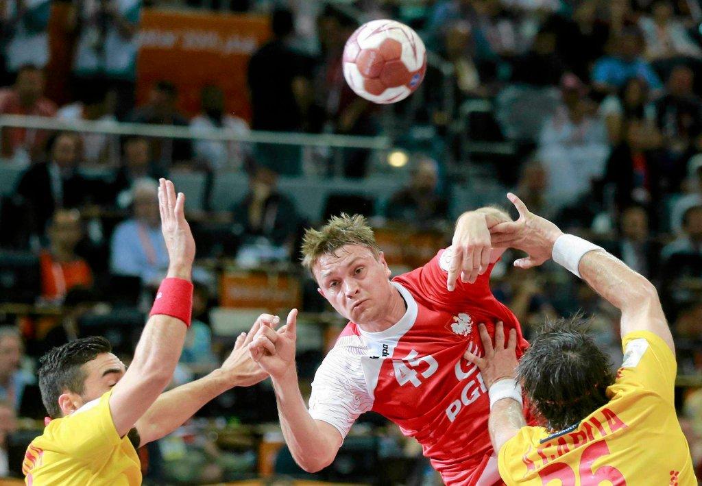 Mecz Polska - Hiszpania. Brązowy medal dla Polski. Valero Rivera, Michał Szyba i Antonio Garcia