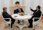 Stempin: Pok�j zamiast broni - dyplomatyczna ofensywa Merkel i Hollande'a