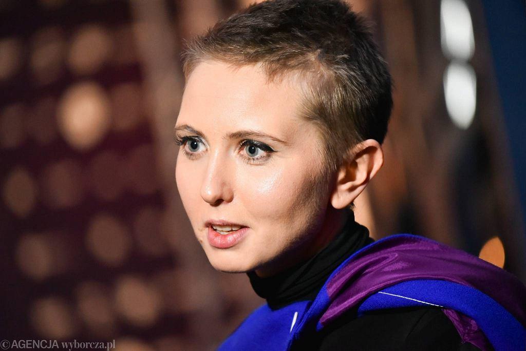 Justyna Wasilewska / Justyna Wasilewska.Fot. Franciszek Mazur / Agencja Gazeta
