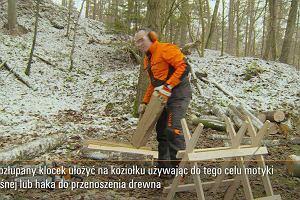 Jak prawidłowo ciąć drewno do kominka