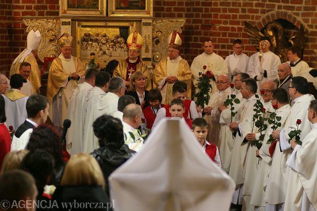 Wielki Czwartek w katedrze w Gorzowie Wielkopolskim