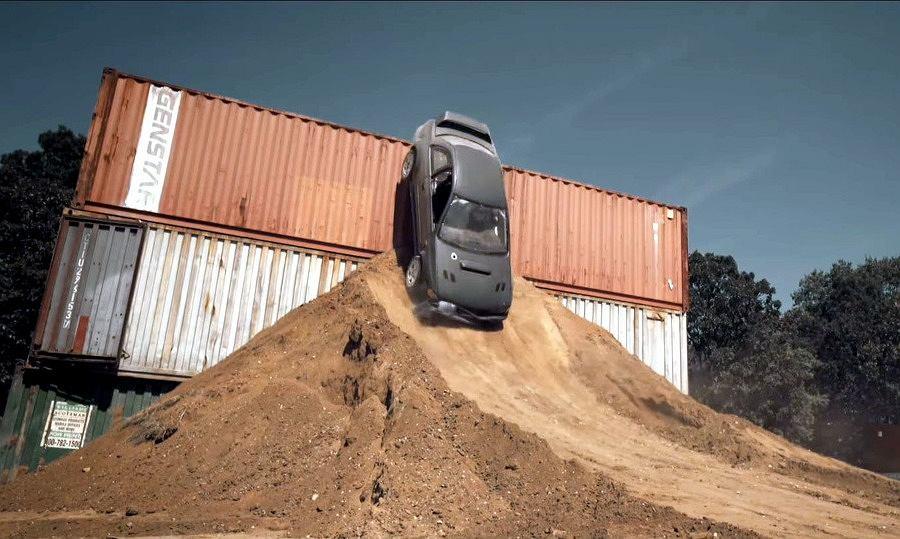 Subaru i amatorska Gymkhana | Ken Block by się nie powstydził!