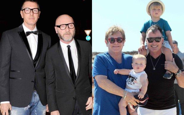"""Domenico Dolce i Stefano Gabbana skrytykowali metodę zapłodnienia in vitro, nazywając dzieci urodzone za jej pomocą """"chemicznym potomstwem z wynajętej macicy"""". Oburzony tymi słowami poczuł się ojciec dwójki poczętych w ten sposób synów, Elton John. Do bojkotu marki przyłączają się kolejne gwiazdy."""