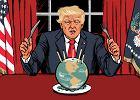 Domosławski o Trumpie: Narcyz i macho. Strzela na oślep, ulega kaprysom