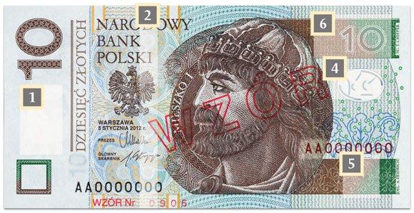 Zdj�cie numer 3 w galerii - Od poniedzia�ku nowe banknoty. Zobacz, jak wygl�daj�