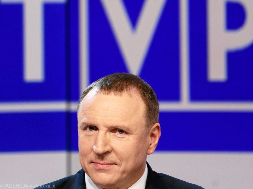 Prezes TVP Jacek Kurski (Fot. Adam Stępień / Agencja Gazeta)
