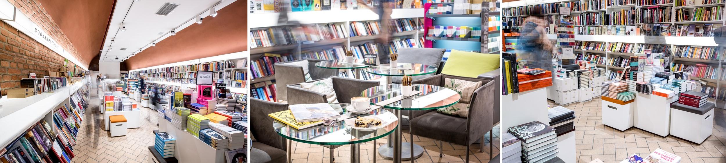 Księgarnia i kawiarnia Bookarest, znajduje się w poznańskim Starym Browarze (fot. materiały prasowe)