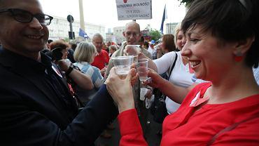 'Toast za Wolność', Warszawa, Pl. Konstytucji, 4 czerwca 2017 - 28 Rocznica Wolnych Wyborów