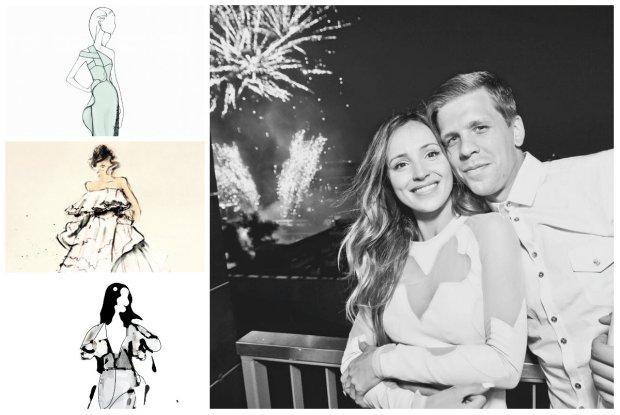0c69aaf0f9 Wybieramy suknię ślubną dla Mariny Łuczenko. Topowi projektanci narysowali  dla nas swoje propozycje. Która