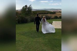 Magdalena Mielcarz odnowiła przysięgę małżeńską. Pokazała film z ceremonii. Co za suknia!