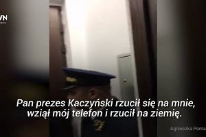 """Agnieszka Pomaska: """"Kaczyński był w furii, wyrwał mi telefon"""""""
