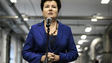 Prezydent Warszawy Hanna Gronkiewicz Waltz.