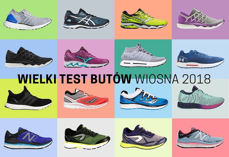 7f009703b5d0f Wielki test butów Polska Biega  KOLEKCJA WIOSNA 2018 - wyniki