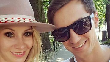 Kamil Stoch z żoną
