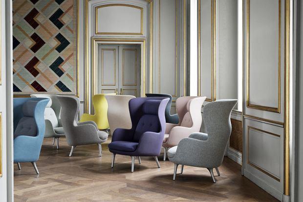 Ro™ chair, projekt Jaime Hayon, producent Fritz Hansen