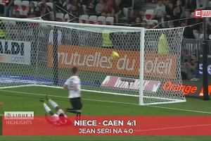 Top 5 goli Ligue 1. Uderzenie Karima Azamouma zza pola karnego bramką kolejki [ELEVEN SPORTS]