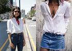 Biała koszula w casualowych stylizacjach - klasyka w dobie trendów