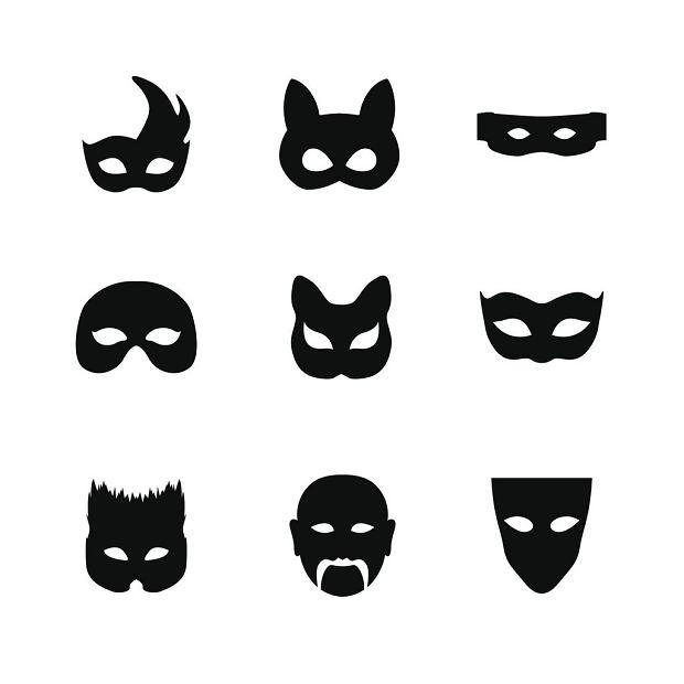 Maski z papieru mogą mieć różny kształt, być różnie ozdobione. Nawet, jeśli będą dwa takie same szablony, mogą być ozdobione zupełnie inaczej, przez co maski będą się różniły. Ogranicza nas jedynie wyobraźnia.