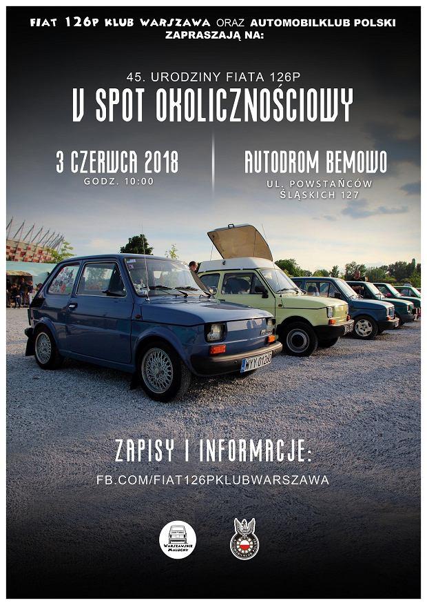 45. urodziny Fiata 126p