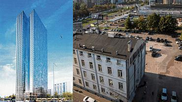 Projekt wieżowca przy ul. Srebrnej
