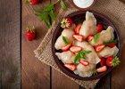 Pierogi z truskawkami - wymarzony obiad na diecie?