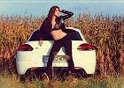 Dziewczyna i samoch�d | Gosia i VW Scirocco R