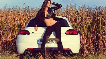 Gosia Bieńkowska i VW Scirocco R