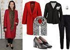 Ognistoczerwone płaszcze na jesień i zimę. Zobacz, jak noszą je Maria Sadowska i Anna Popek