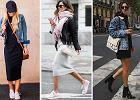 Porady stylistek: jak nosić sukienki sportowe jesienią?
