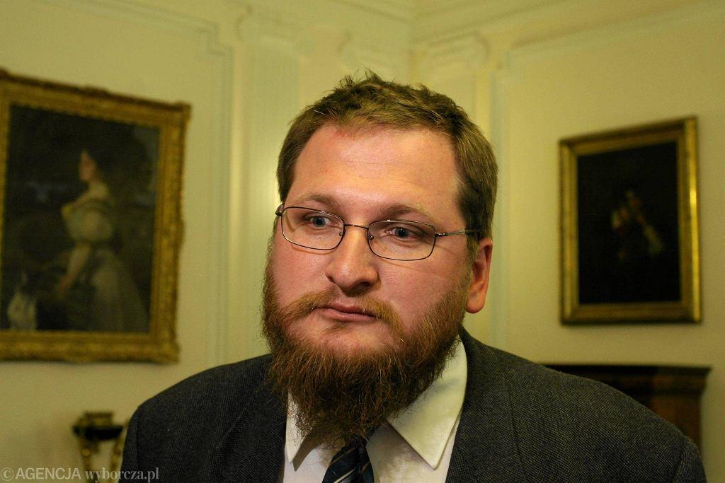 Piotr M.A. Cywiński, dyrektor Muzeum Auschwitz-Birkenau