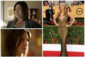 Przemiana Jennifer Aniston. Oszpeci�a si� do roli, zmieni�a stylistk�, zdoby�a nominacj� do Z�otego Globu. Cho� nie powalczy o Oscara, to 2015 b�dzie jej rokiem