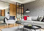Loft w wyrazistym stylu - szarości i stalowe elementy w towarzystwie mocnych kolorów